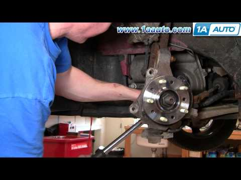 How To Install Replace Front Wheel Hub Bearing GM Front Wheel Drive PART 2 1AAuto.com