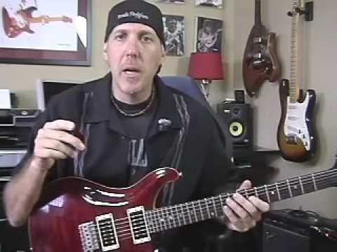 Guitar Lesson learn pinch harmonics or artificial harmonics