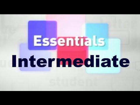 Essentials #08 (Intermediate)