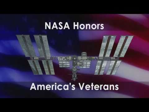 ISS Crew Pays Veterans Day Tribute to U.S. Servicemen and Women