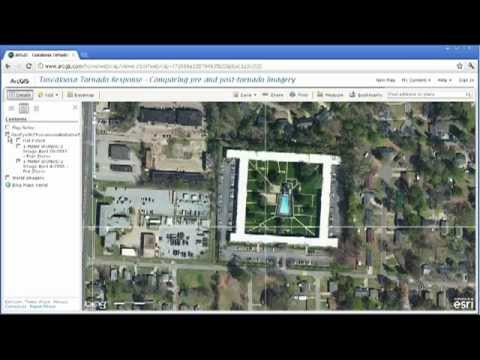 Examining the Tuscaloosa April 2011 Tornado in ArcGIS Online, Part 2