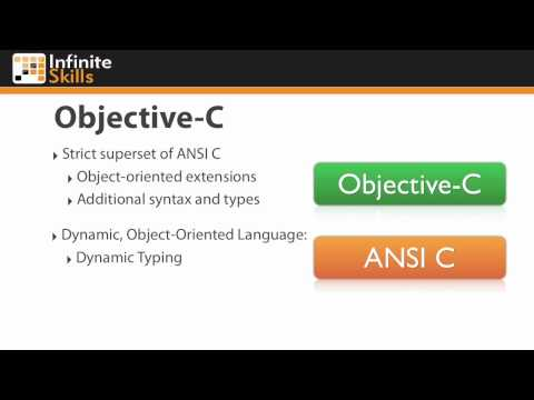 iOS Programming Tutorial | Objective C Overview
