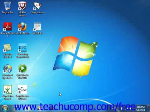 Windows 7 Tutorial Connecting to the Internet Microsoft Training Lesson 7.3