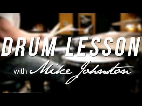 DRUM LESSON: New Chop Builder by Mike Johnston