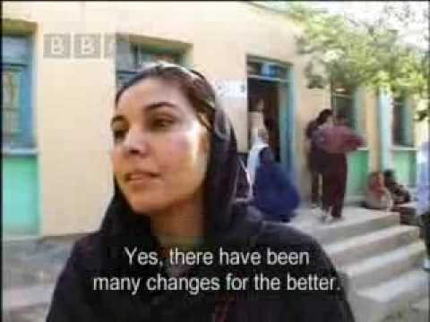 Election day - Afghan Ladies Driving School - BBC