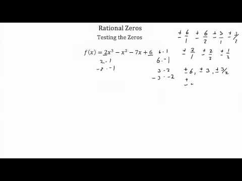 Rational Zeros