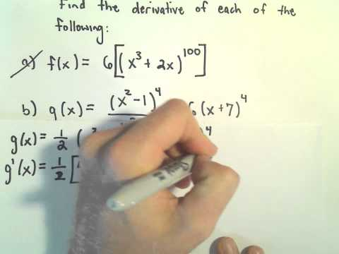 More Chain Rule Examples #2