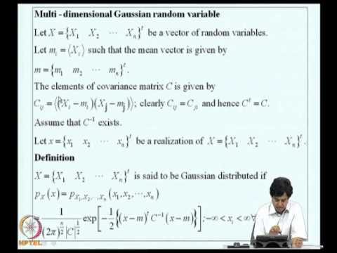 Mod-01 Lec-05 Multi-dimensional random variables-2