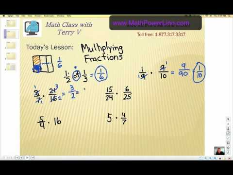 How to Multiply Fractions 1