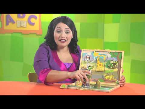 PBS KIDS Toys | Explore the Safari: Take-Along Puzzle Playset