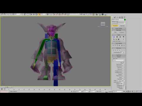 Rigging WoW characters with 3d Studio MAX Part 02