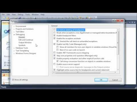 Visual Basic Tutorial - 3 - Getting Familiar With The IDE