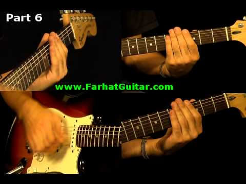 Sunday Bloody Sunday -U2 Guitar Cover Part 6  www.FarhatGuitar.com