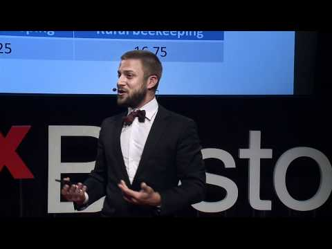 TEDxBoston - Noah Wilson-Rich - Urban Beekeeping