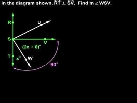 Perpendicular Lines - YourTeacher.com - Geometry Help