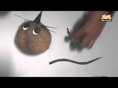 Learn to Make a Rat with Coconut - Arts & Crafts