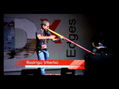 TEDxEdges - Rodrigo Viterbo - Making a Didgeridoo as a Team Building Exercise
