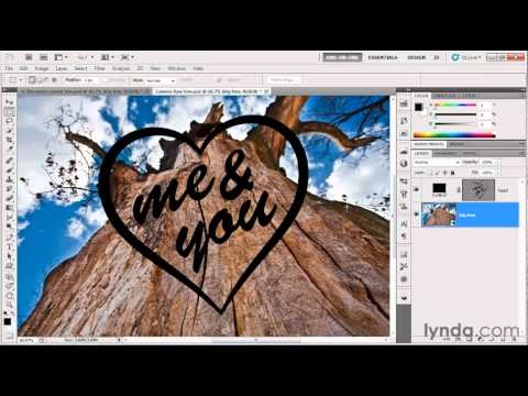 How to import Illustrator art into Photoshop | lynda.com tutorial