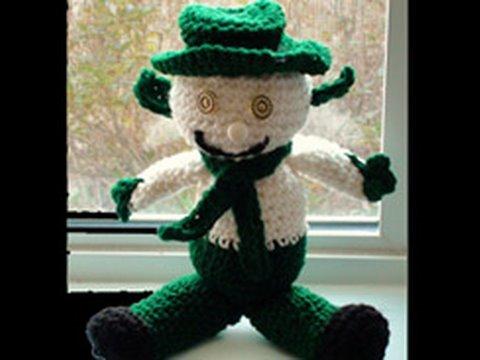 Crochet Snow Leprechaun Part 2