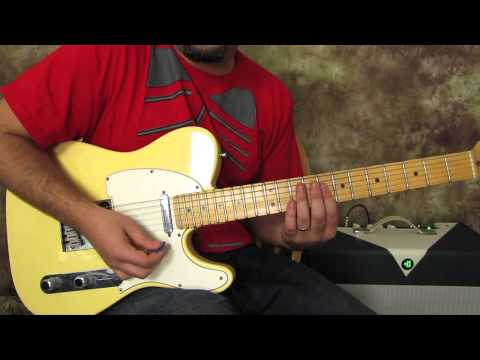 blues and funk guitar lesson