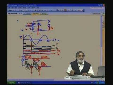 Lecture - 6 Controlled Rectifier Part-5 (Three Phase)