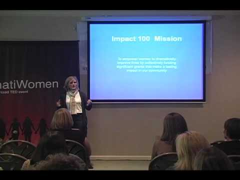 TEDxCincinnatiWomen - Jenny Berg - Extraordinary Impact - Together, We Impact Cincinnati