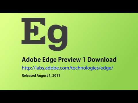 Adobe Edge Preview 1 Web Standards Animation Tool Using HTML5 CSS3 and Javascript