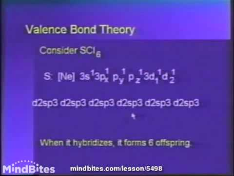 College Chemistry 1: Geometry of Molecules 4