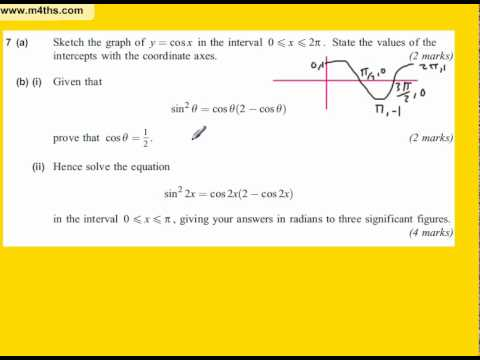 June 2010 AQA core 2 Quick Answers (Q7)