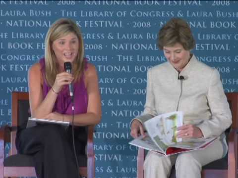 Laura and Jenna Bush  - National Book Festival 2008