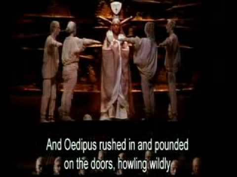Dancing in the Dark: Julie Taymor, Oedipus Rex, and the Gaze of Upright Posture