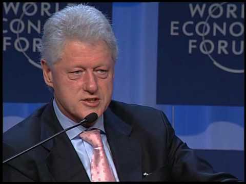Davos Annual Meeting 2006 - Bill Clinton