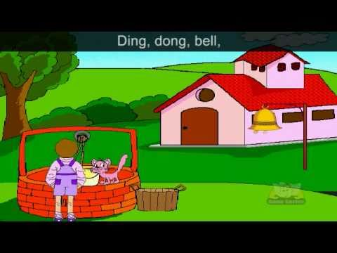 Ding Dong Bell Nursery Rhyme Karaoke
