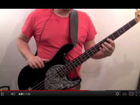 learn how to play bass guitar to london calling - the clash - paul simenon
