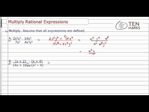 Multiply Rational Expressions