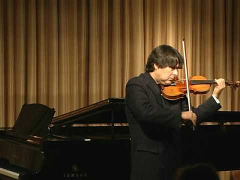 "Stradivari violin, ""The Antonius,"" played by Eric Grossman - Part 2 of 2"