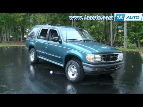 How To Install Replace Windshield Wiper Blades and Arms Ford Explorer 1AAuto.com