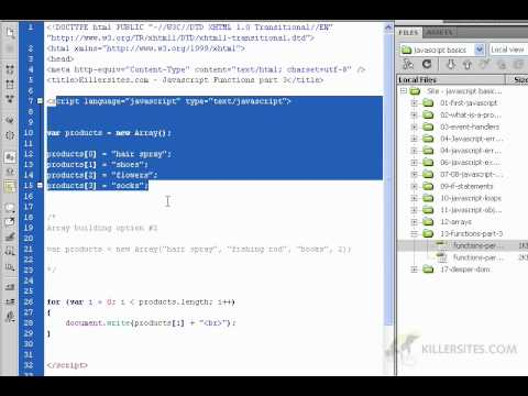 Beginner's Javascript - Functions Part 5