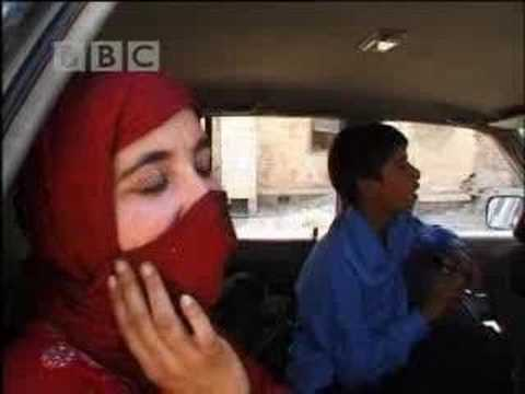 Taking the test - Afghan Ladies Driving School - BBC