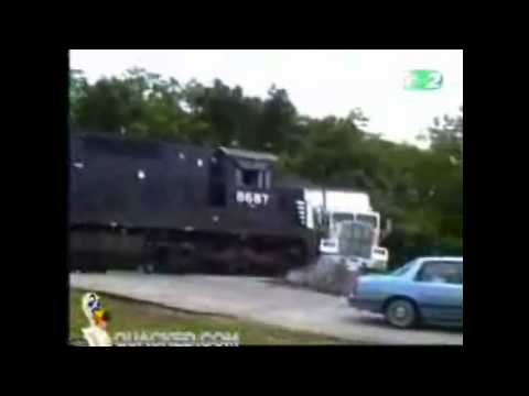 Physical Science 2.2c - Train hits Truck 1