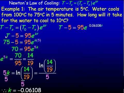 Newton's Law of Cooling.mp4