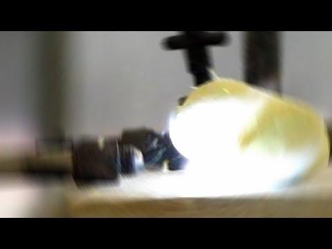 Fluorine Gas and Sulfur
