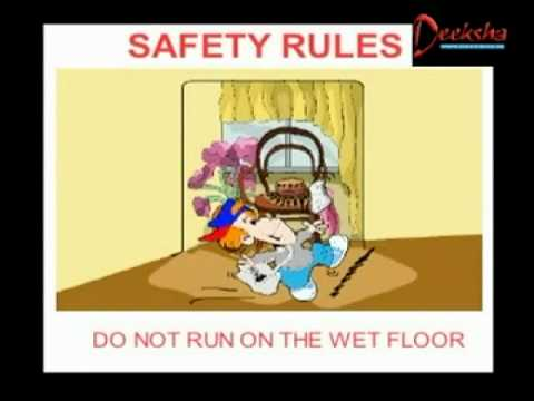 Lower Kindergarten - Safety Rules - Creative Learning for Kids