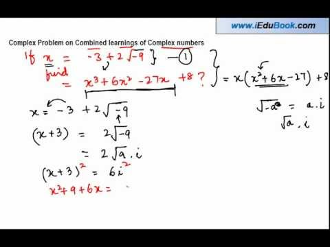 Complex Problem on Combined learnings of Complex numbers