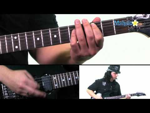 """How to Play """"Rock You Like A Hurricane"""" by Scorpions on Guitar (Practice Cover)"""