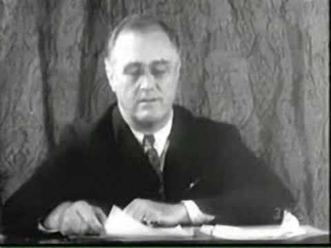 FDR on mortgages, gold, reflation, and labor standards
