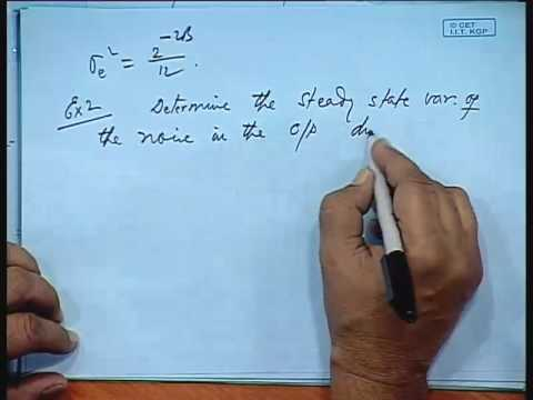 Lec-27 Effects of Quantization(Contd...)