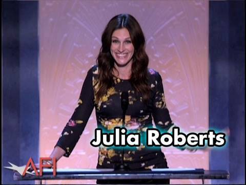 Julia Roberts Salutes Mike Nichols at the AFI Life Achievement Award