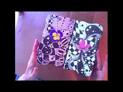 Flower Art Journal and Making Dolls