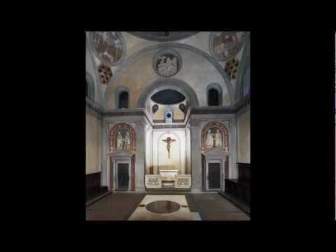 Brunelleschi, Old Sacristy, San Lorenzo, Florence, begun c. 1421